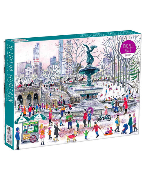 Bethesda Fountain 1000 Piece Puzzle (CURBSIDE PICK UP)