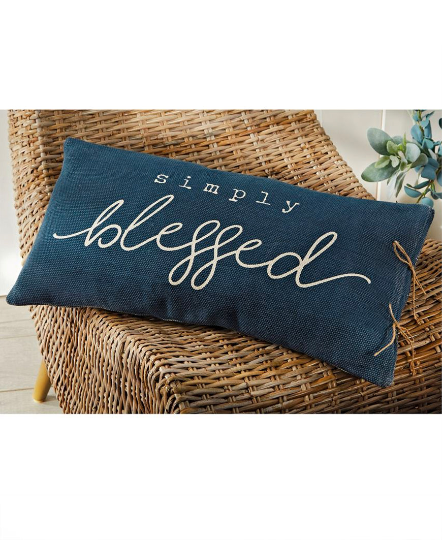 Simply Blessed Pillow (41600323)