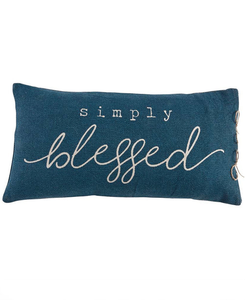 Simply Blessed Pillow (CURBSIDE PICK UP)