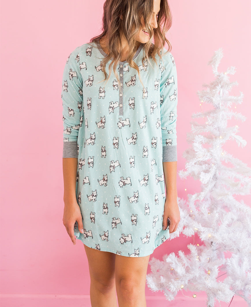 Scottie Dog Sleep Dress