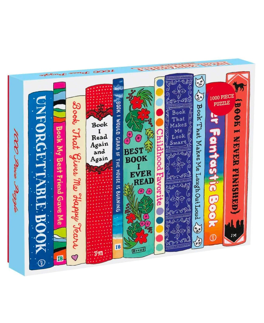 Ideal Book Shelf 1000 Piece Puzzle