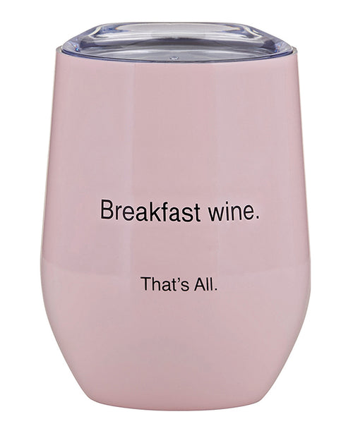 Stainless Steal Wine Tumbler - Breakfast Wine (F2807)