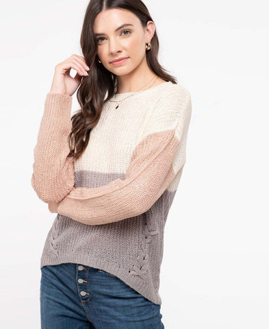 Stay 6 Feet Away Long Sleeve Top (RT7853C-6875)