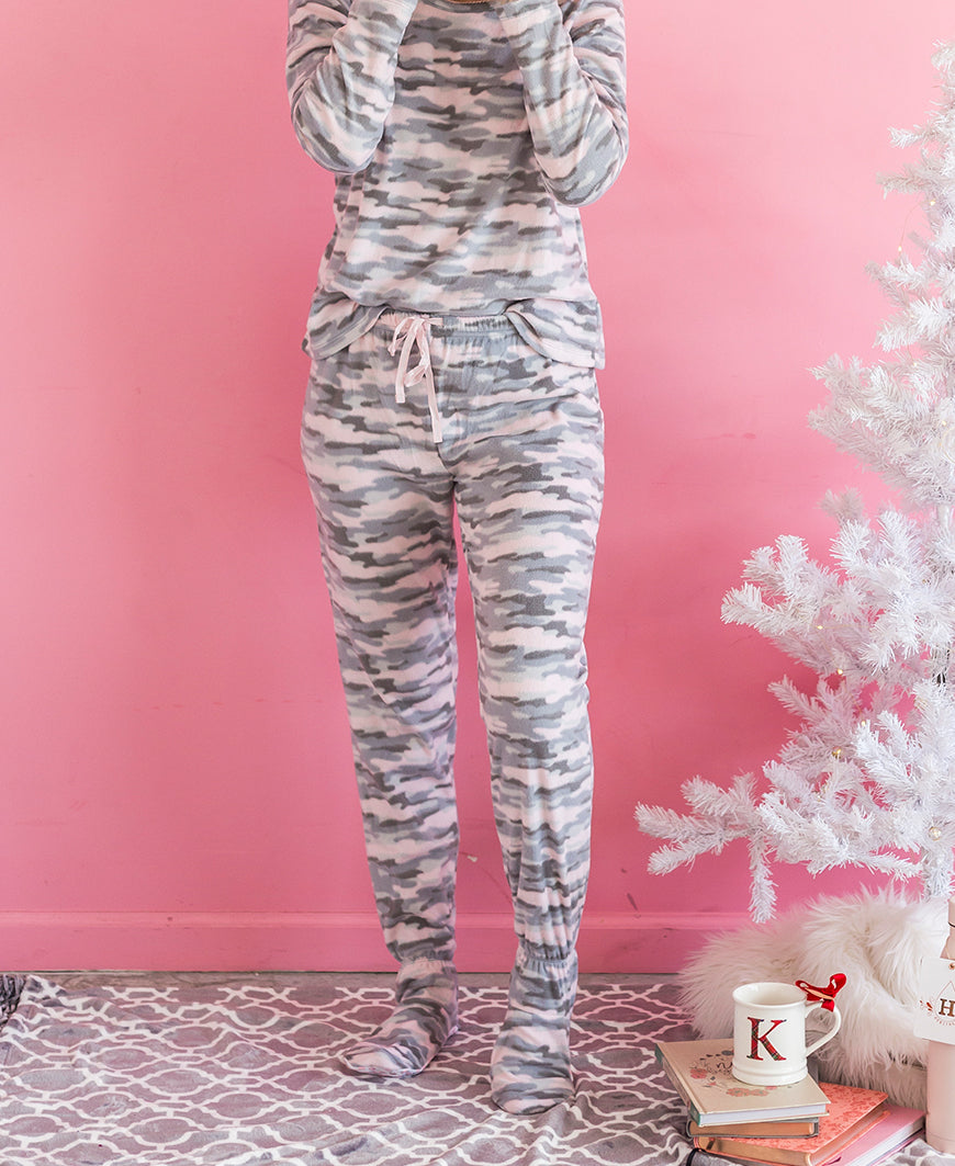 Camo Footed PJ Pant