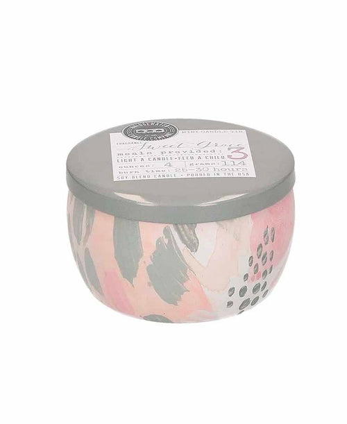 Sweet Grace Tin Candle