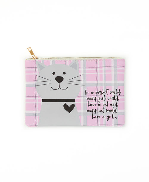 EVERY GIRL WOULD HAVE A CAT CLUTCH (BG377X134)