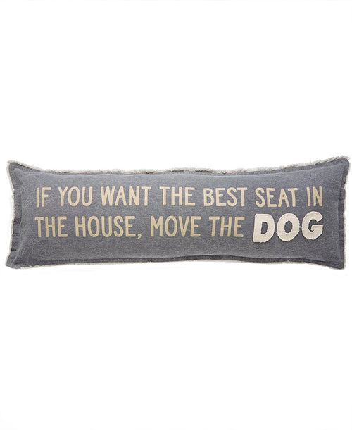 Move the Dog Canvas Pillow (41600064)