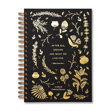 17 Month Undated Large Spiral Planner by Compendium DUP6709