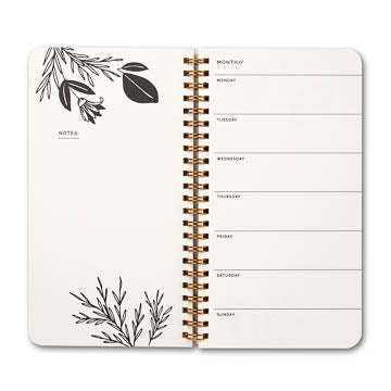 Each Day Spiral Weekly Planner (DWP6753)