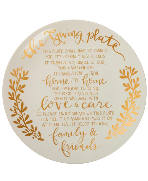 Gold Giving Plate (103329)