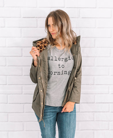 Mama Charcoal Graphic Sweatshirt Top