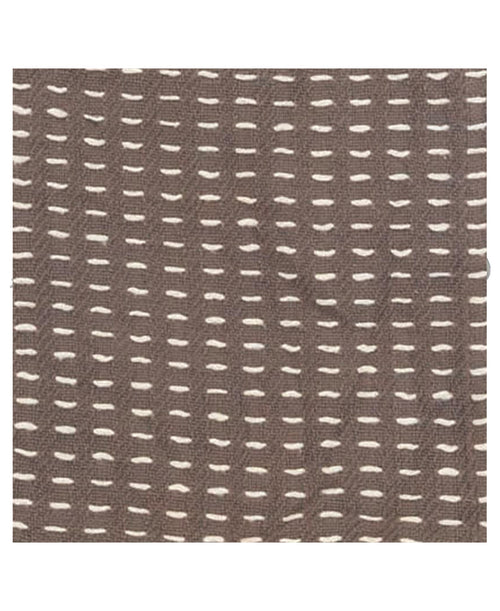 Gray Hand Woven Throw Blanket