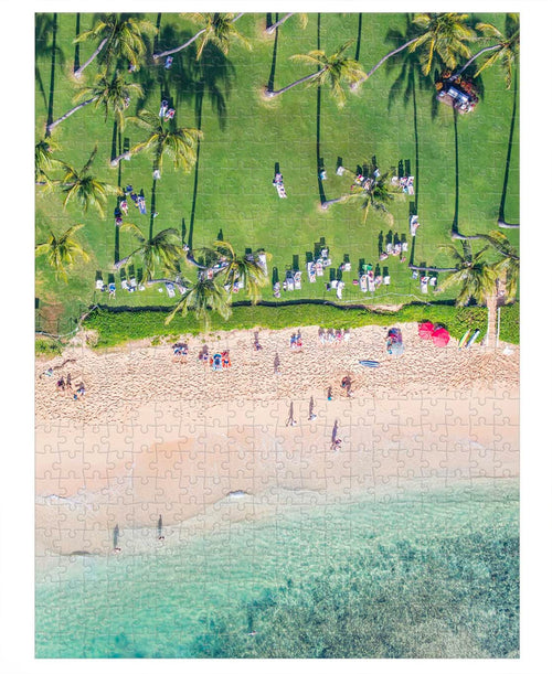 Hawaii Gray Malin 500 Piece Double Sided Puzzle