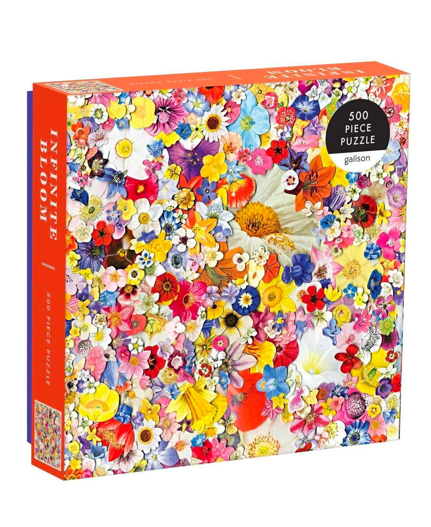 Infinite Bloom 500 Piece Puzzle