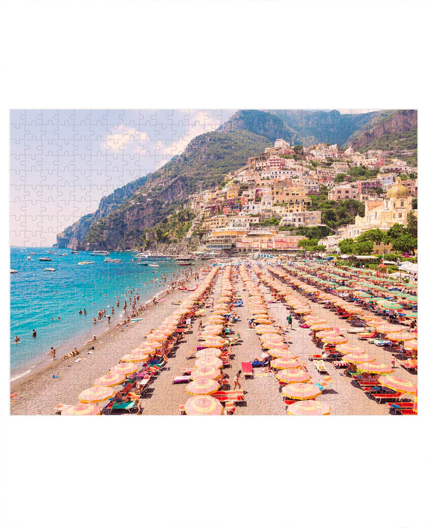 Italy Gray Malin 500 Piece Double Sided Puzzle