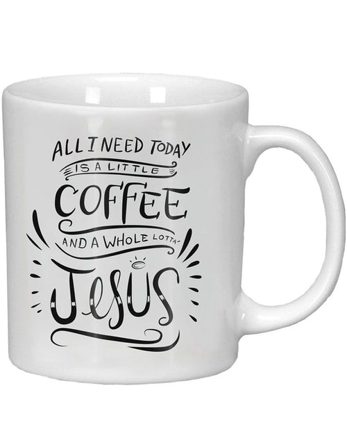 Whole Lotta Jesus Mug