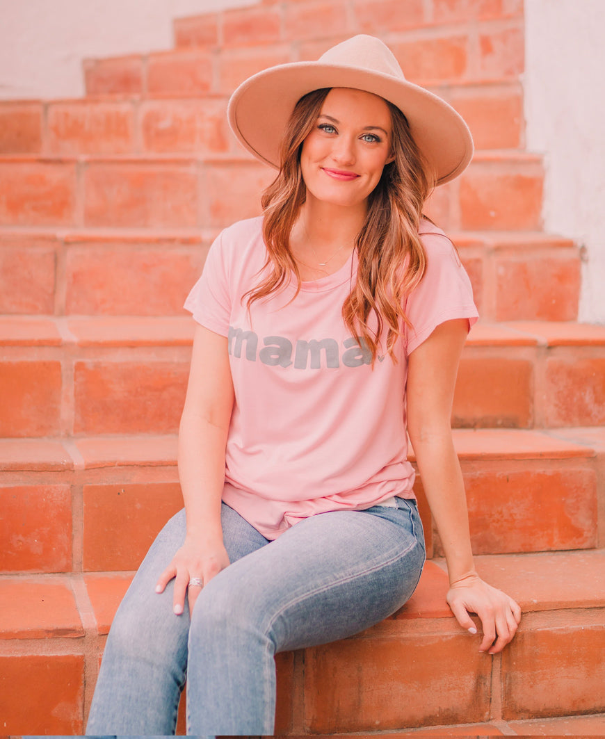 Pink Mama Graphic Tee (15087-20)