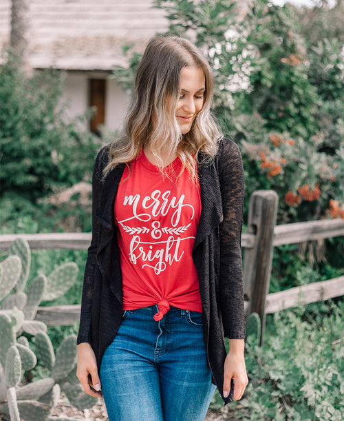 Merry & Bright Muscle Tank