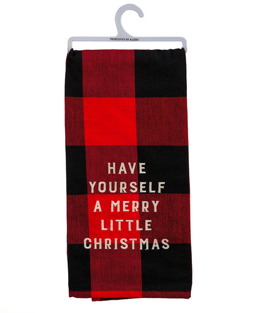 Merry Little Christmas Dish Towel (107336)