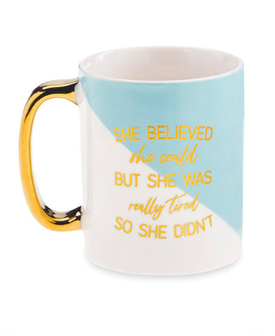 Teal Jesus & Coffee Sweater (H7046J)