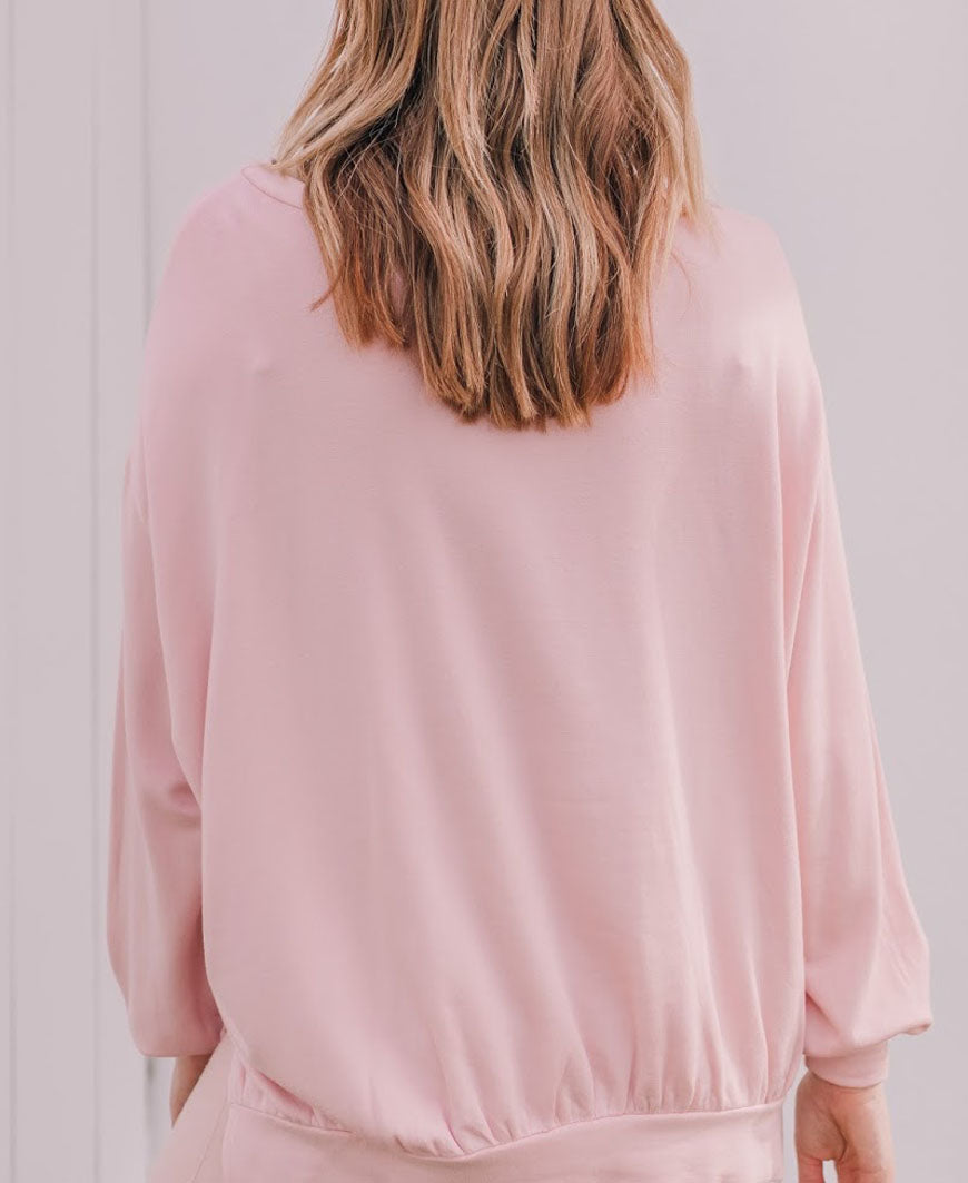 Pink Pajamas All Day Sweatshirt