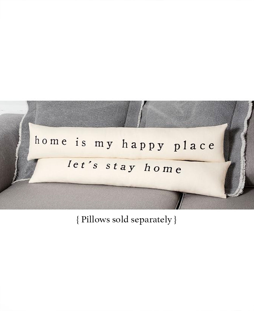 Let's Stay Home Pillow (41600272S)