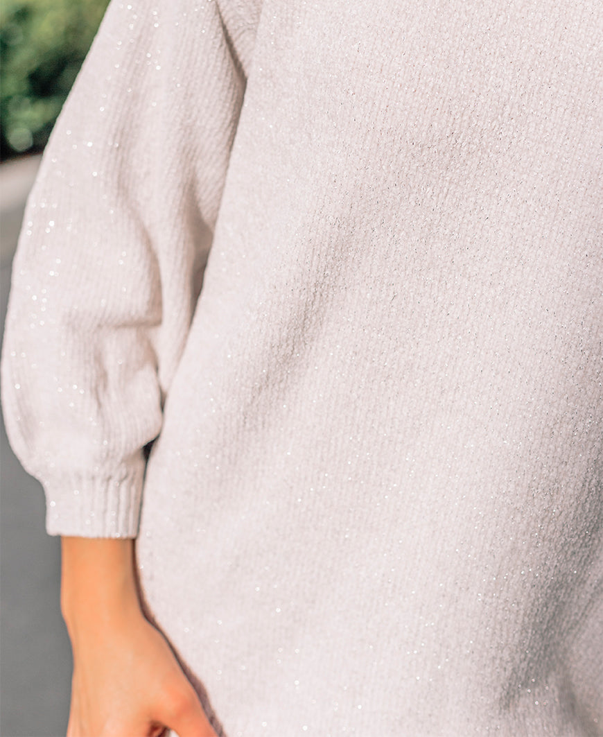 Sparkle Bell Sleeve Sweater