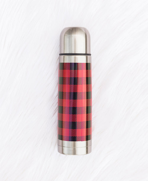 Red Buffalo Stainless Steel Thermos