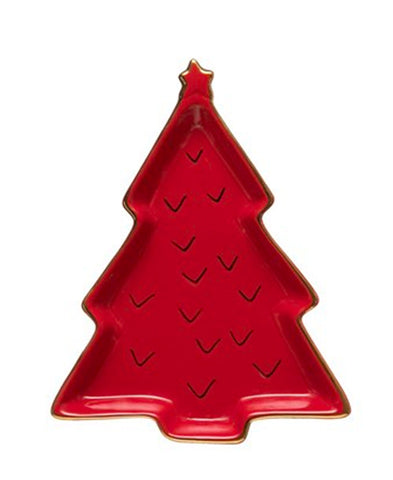 Scalloped Dot Decorative Tree (XM5854)