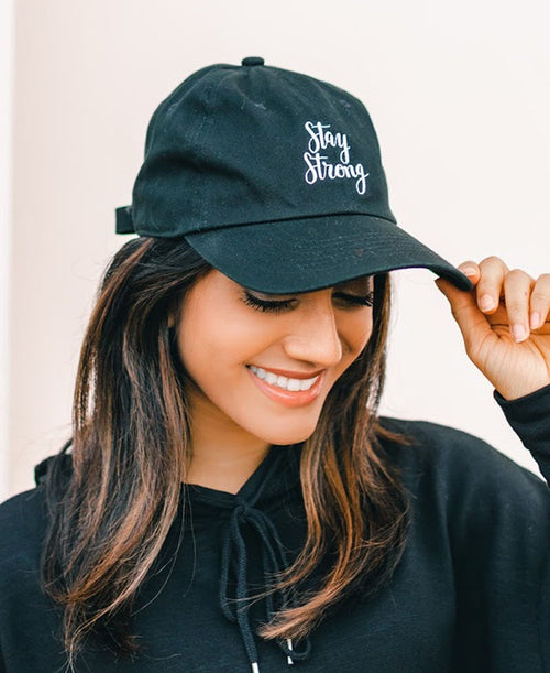 Stay Strong Baseball Hat