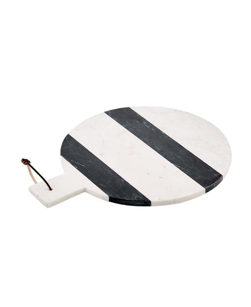 Striped Marble Round Board