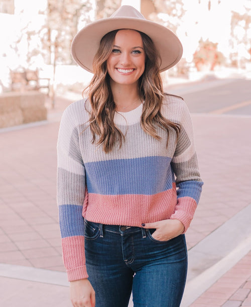 Color Block Sweater (71488-int)