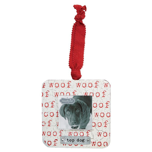 Top Dog Frame Ornament
