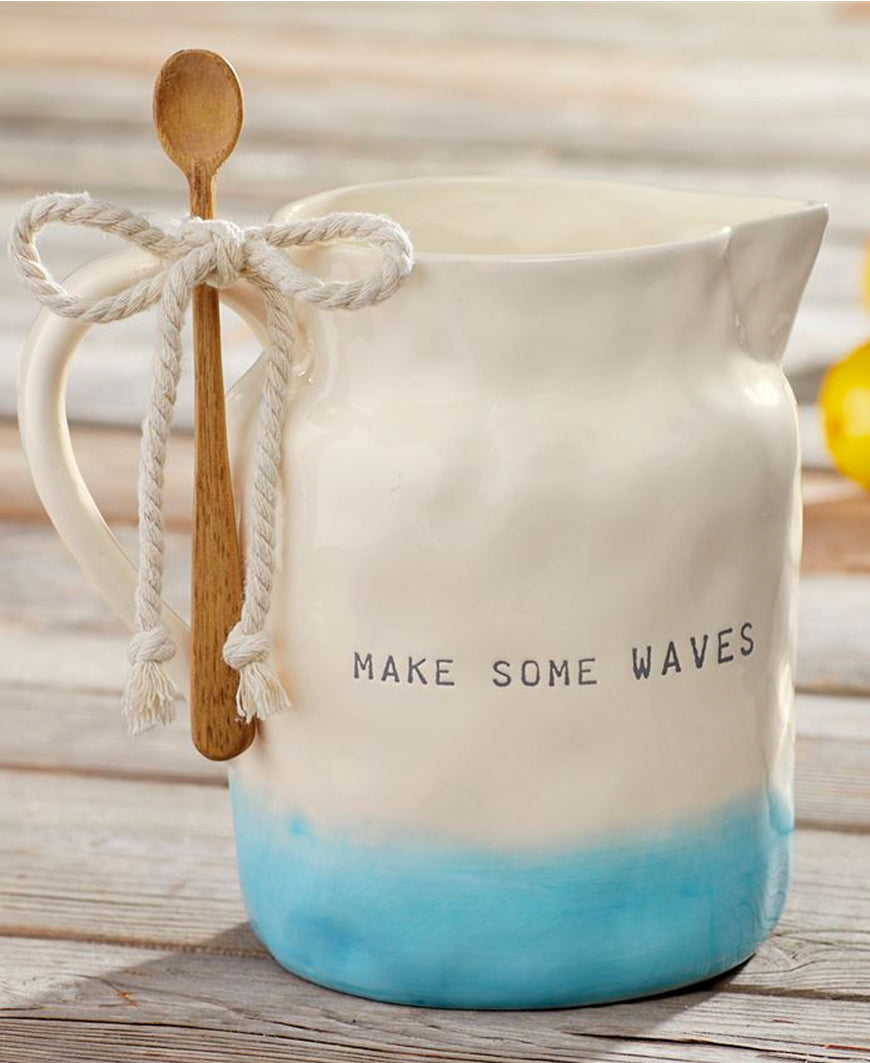Waves Ombre Pitcher & Spoon (45500032)
