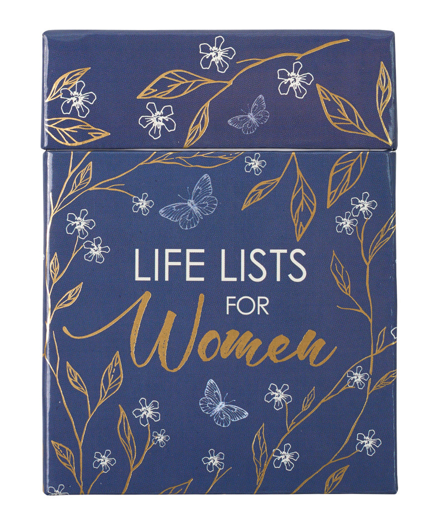 Life Lists For Women Cards