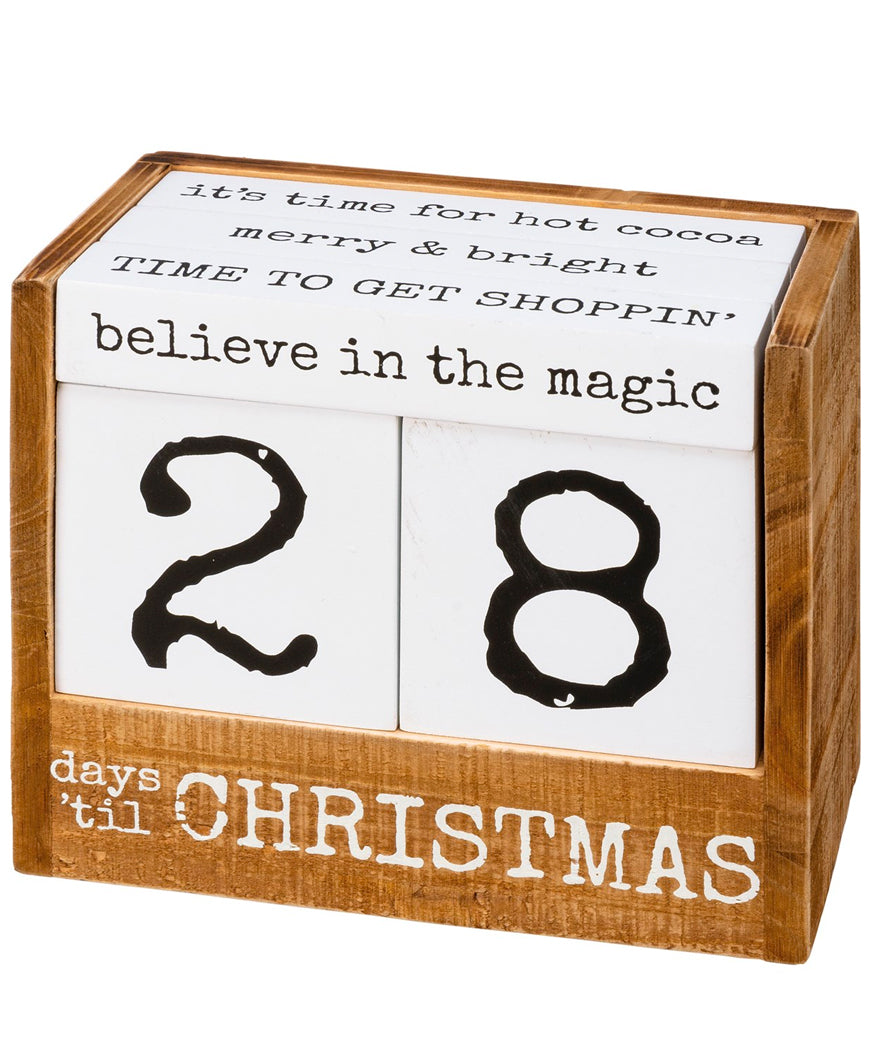 Christmas Block Countdown (106798)