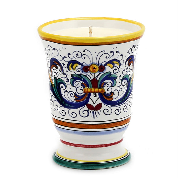 Bell Cup Candle - Ricco Deruta Design [#CN01-RIC]