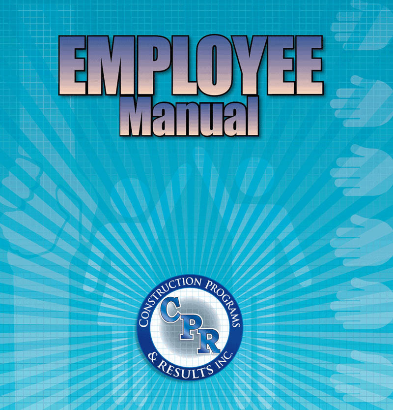 Employee Manual for Construction #EmployeeManual