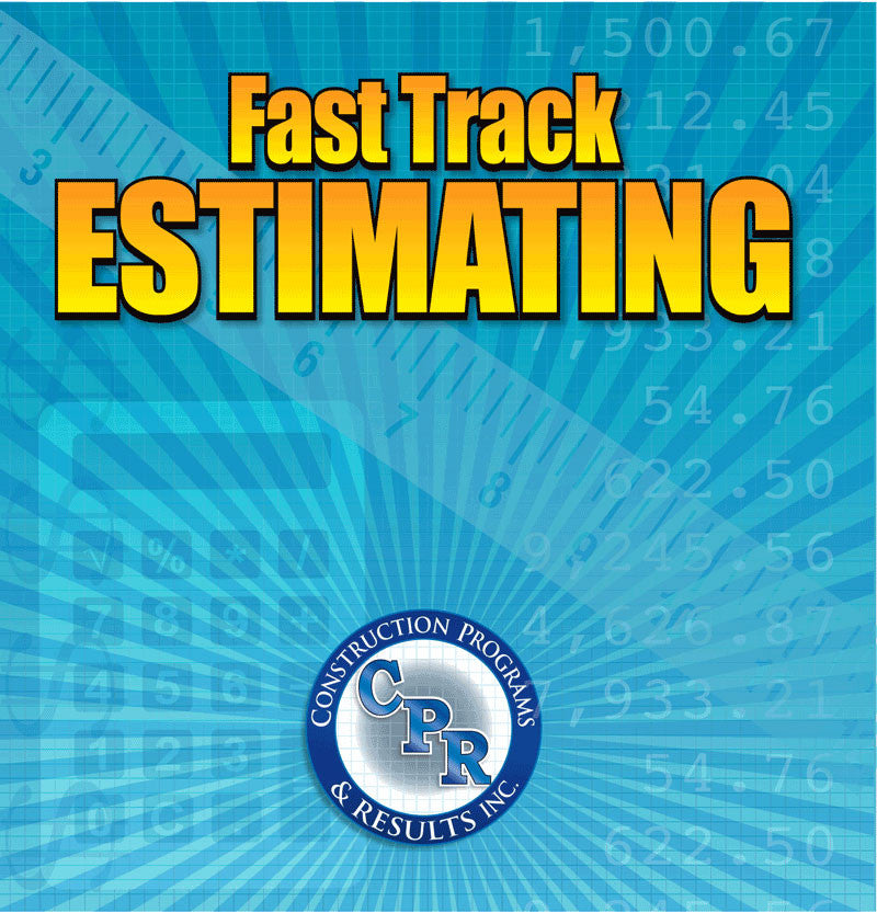 Fast Track Estimating Software Construction Programs Results - Construction estimate and invoice software