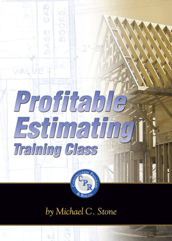 Profitable Estimating Training