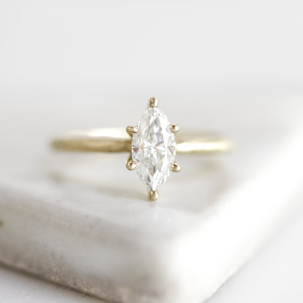 Marquise Solitaire Ring