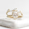 14K Rose Gold Diamond Meadow Ring