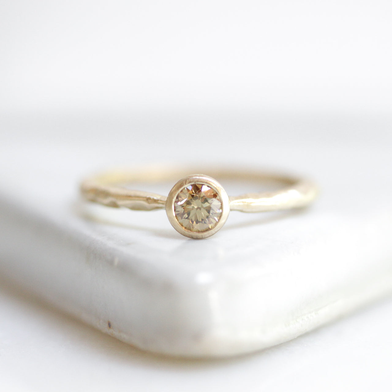 Posie Solitaire Ring