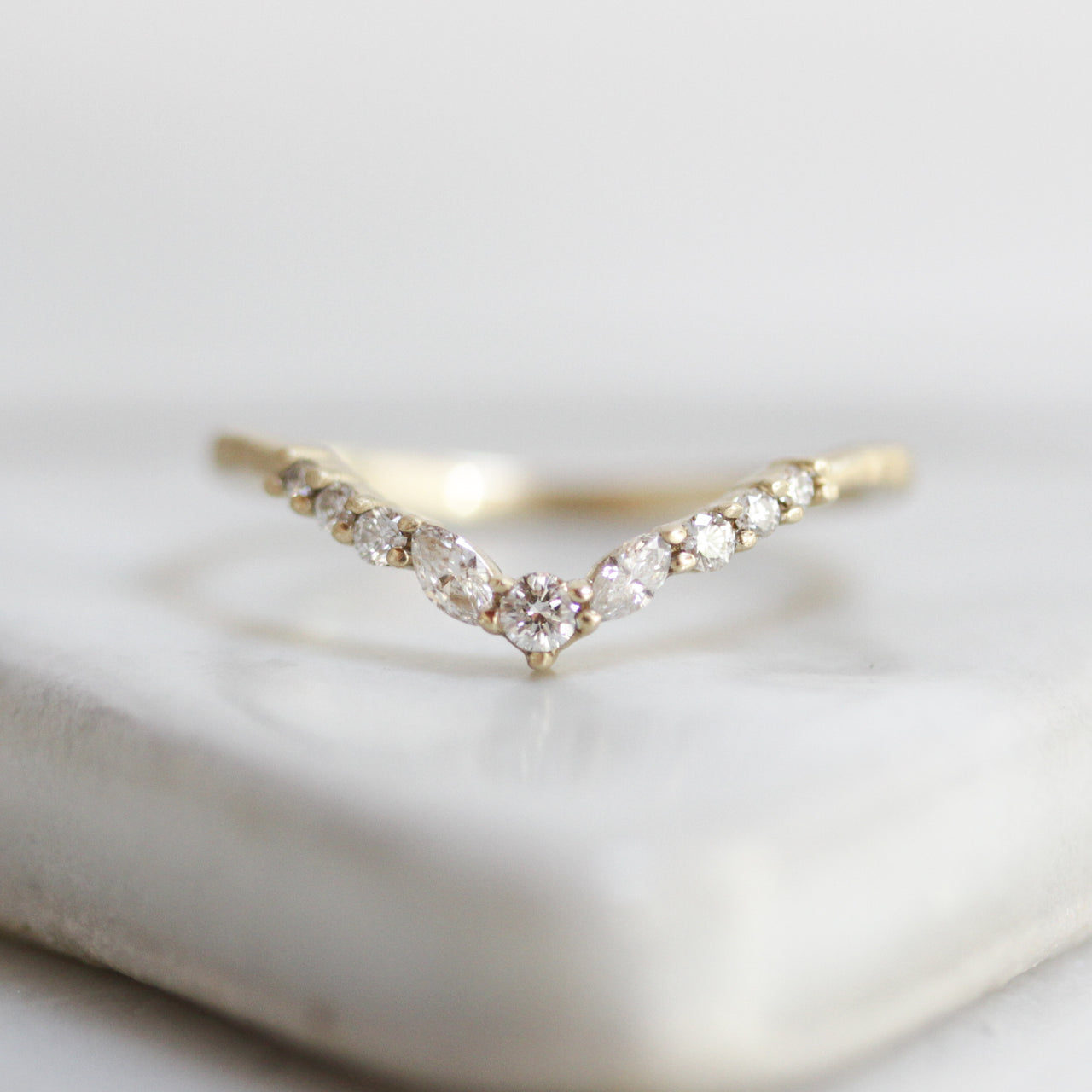 Diamond Peak Ring