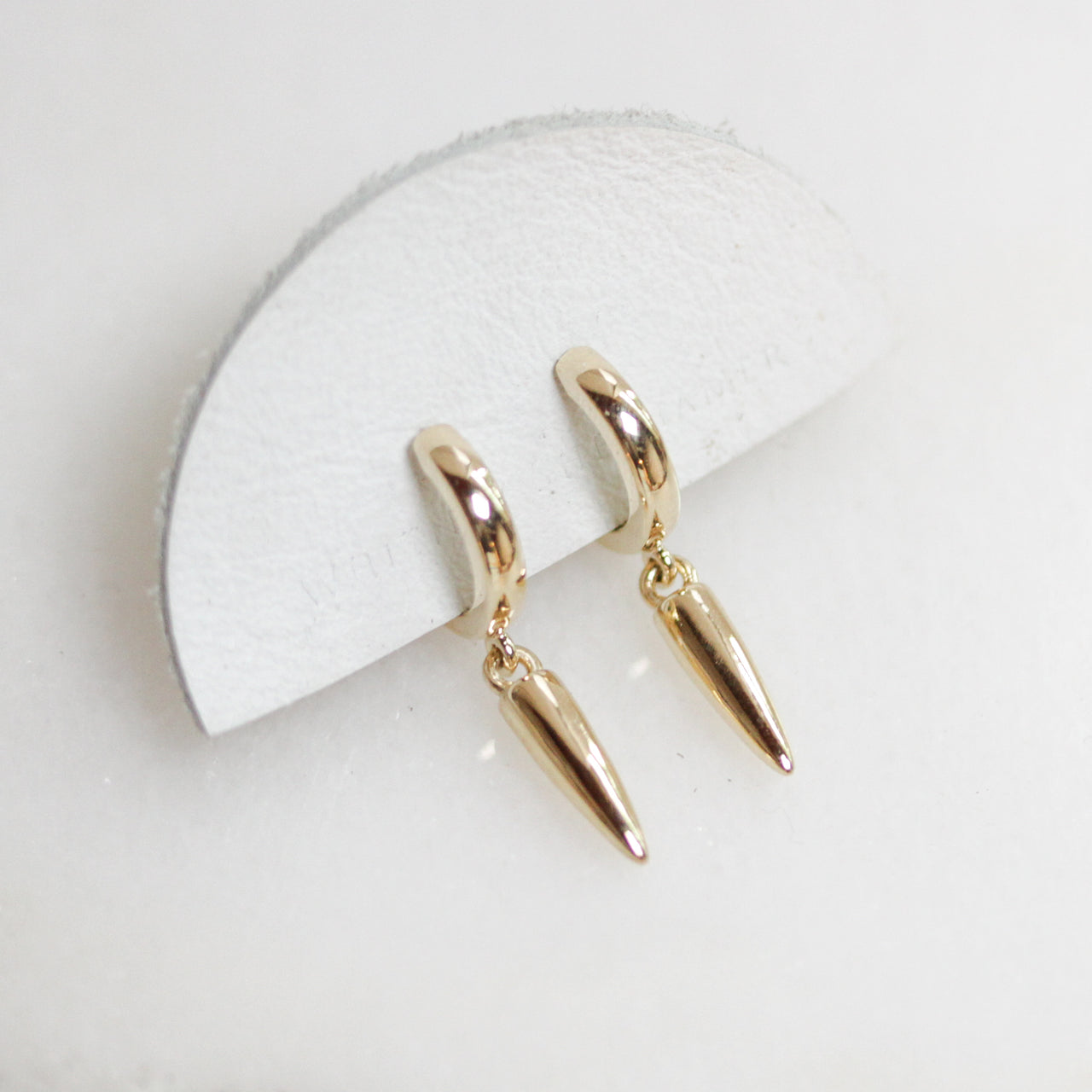 Gold Point Earrings