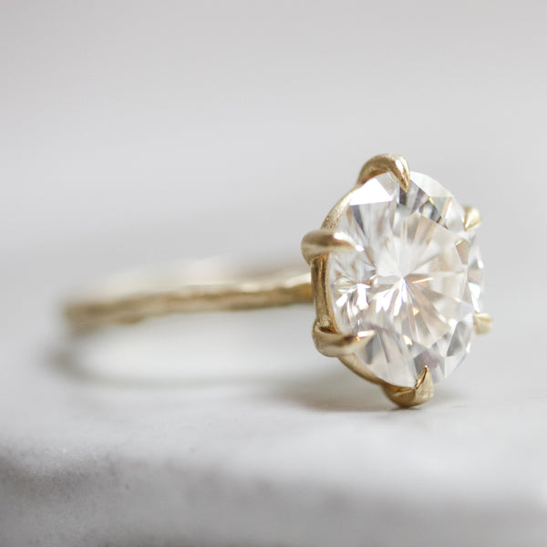 2.5 Carat 6-Prong Solitaire
