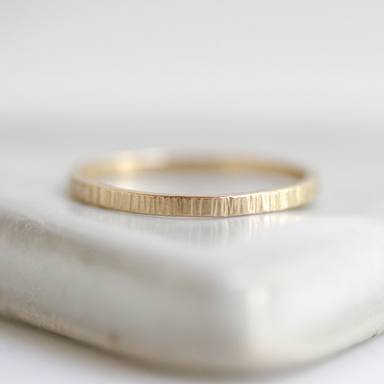 14K Gold Sequoia Band