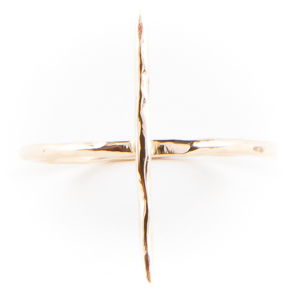 14K Gold Aiguille Spike Ring