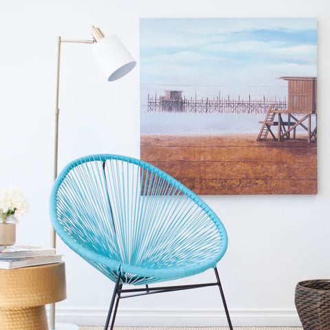 Bring the Beach Home with One Large Canvas