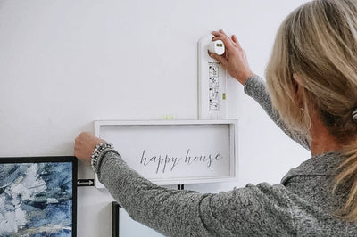 How to Hang Pictures the Easy Way